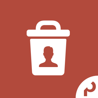 Icon: Permanent User Delete